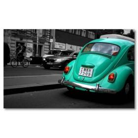 Αφίσα (VW beattle, κυκλοφορία, αυτοκίνητο)
